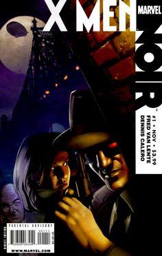 Marvel - X-Men Noir & Complete Mini Series Marvel Noir, Marvel Comics, Xmen, Remy Lebeau, Comic Art, Comic Books, Comics For Sale, Above And Beyond, Staying Alive