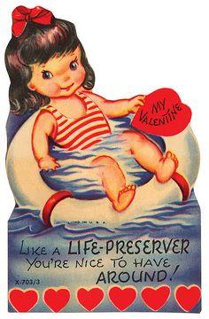 Life Preserver Valentine