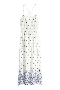 Robe longue à motif | H&M