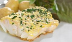 Pan fried cod steaks with mustard glaze recipe – visit Eat Well for New Zealand recipes using local ingredients - Eat Well (formerly Bite) Cod Fish Recipes, Hcg Recipes, Seafood Recipes, Healthy Recipes, Delicious Recipes, Dishes Recipes, Quick Recipes, Fresco, Mustard Recipe