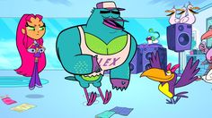 "Warner Bros. Animation and Cartoon Network have released a preview clip and several images from next Wednesday's all new episode of Teen Titans Go! titled – ""Birds"".  Check out the tagline and prev..."