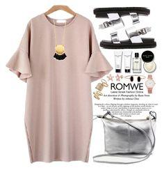 """Romwe"" by oshint ❤ liked on Polyvore featuring Bobbi Brown Cosmetics, Topshop, Larsson & Jennings, Madewell, Summer, awesome, beautiful, dress and romwe"