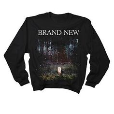 WAAAANT!!! Brand New - Daisy Crew Neck - Sweatshirts - Official Merch - Powered by MerchDirect