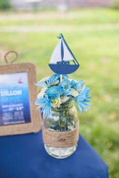 Nautical themed first birthday party  | The Frosted Petticoat
