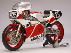 Racing Scale Models: Yamaha FZR 750 8 Hours Suzuka 1985 by Utage Factory House (Fujimi)