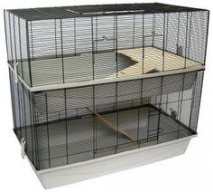 Das Mäuse- und Hamsterheim Carlos ist ein komplett ausgestatteter Käfig mit 2 Etagen und bietet so einen artgerechten Lebensraum.