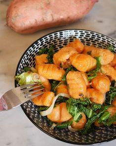 Gnocchis de patate douce (et parmesan)