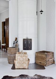 Inglenook Fireplace, Fireplace Ideas, Farmhouse Architecture, Classic Wallpaper, Country Interior, Nordic Home, Old Farm Houses, Interior Decorating, Interior Design
