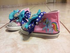 Items similar to Rainbow Dash / My little Pony Shoes.Can be Personalized on Etsy My Little Pony Shoes, My Little Pony Pictures, Rainbow Dash, Crocs, Horses, Trending Outfits, Unique Jewelry, Handmade Gifts, Sandals