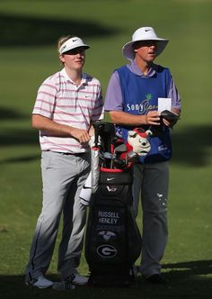 Rookie Russell Henley current leader of the Sony Open in Hawaii on January 11, 2013 in Honolulu, Hawaii.