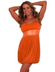 #Sleeveless Spaghetti Empire Pleated Bubble  party dresses #2dayslook #new style fashion #partystyle  www.2dayslook.com