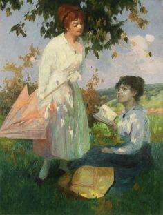 Delightful Day. Louis Jambor (American, 1884-1955).