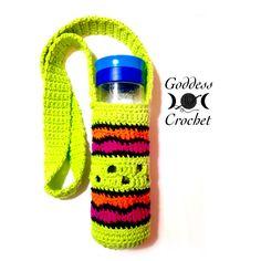 """""""Making Waves"""" – Water Bottle Holder – Free Crochet Pattern – Goddess Crochet"""