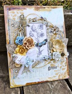 NEW Ingvild Bolme Shabby Chic Metals from Prima!