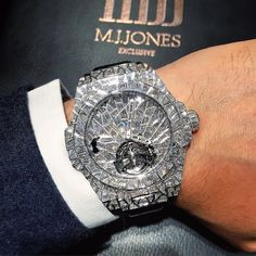 #Perfection is in the eye of the beholder  #Diamond #Hublot #BigBang Impact from #Baselworld