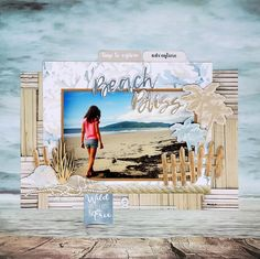 "40 Likes, 1 Comments - Uniquely Creative (@uniquely.creative.kits) on Instagram: ""It's KIT CLUB DAY!!! The Beach Shack February Kit is beyond perfect to scrapbook all your Summer…"""