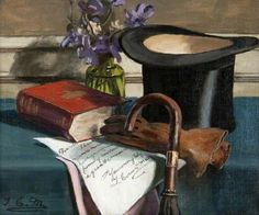 Morton, Thomas, (1859-1928), Souvenir de Manet, 1920, Oil