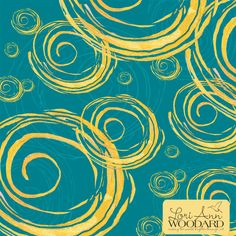 Lori Ann Woodard Delicious Swirls | Module 1 Designing Your Way | September 2015 class | The Art and Business of Surface Pattern Design | Make it in Design