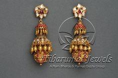 Jhumkis+Collection+from+TIBARUMAL+Jewels