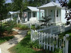 Several MEMA Cottages Have Been Permanently Placed In Cottage Square (shown  Below), The First Katrina Cottage Neighborhood Located On Govern.