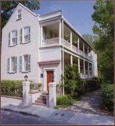 "the quiet streets of Ansonborough...Charleston's first ""suburb"""