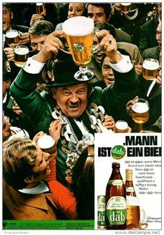 Original-Werbung/ Anzeige 1969 - DAB BIER / DORTMUNDER ACTIEN BRAUEREI - ca. 180 x 240 mm