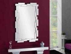 Espejos de Cristal con Luz LED : Modelo MEGANO