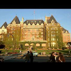 The Empress Hotel, VICTORIA,.BC