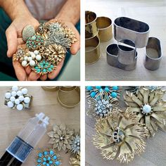 Lourdes Duran, We could make these for your wedding if you'd like!  diy napkin rings