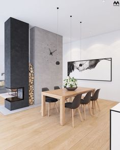 Hottest Absolutely Free corner Fireplace Inserts Concepts Looking to include a comfy contact home? Room Interior, Interior Design Living Room, Living Room Designs, Interior Ideas, Unique Dining Tables, Wooden Tables, Side Tables, Home Fireplace, Fireplace Design
