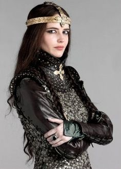 Eva Green as Morgan le Fay of Camelot Party In Berlin, Morgana Le Fay, Green Web, Dresscode, Female Knight, French Actress, Movie Costumes, Costume Design, The Dreamers