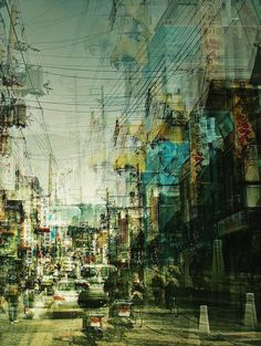 As caóticas fotografias prolongadas nas ruas do Japão por Stephanie Jung – BLCKDMNDS