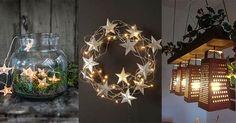 Im Zimmer ist es erst gemütlich, wenn ein Licht brennt. Öfters sind die Lampen sehr langweilig und manchmal auch teuer. Schau Dir diese hübschen Selbstmach-Ideen für coole Lampen für wenig Geld an!