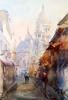 Igor Sava   Italy Watercolor                                                                                                                                                      Mehr