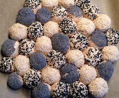 Rezept Partybrötchen - Mini-Brötchen - Brötchen-Sonne von Olla di Bolla - Rezept…