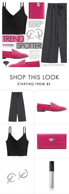 """Trend Spotter"" by tasnime-ben ❤ liked on Polyvore featuring Gucci, Alexander McQueen, H&M, Tiffany & Co. and Illamasqua"