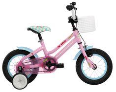 Crescent Snotra (vaaleanpunainen)  http://www.crescent.fi/pyörät/lasten--ja-nuortenpyörät