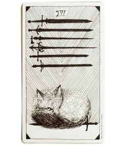 Seven of Swords - Tarot of the Wild Unknown