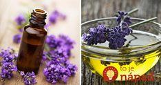 Olej z levandule obsahuje viac ako 150 aktívnych látkach, ktoré bojujú proti… Nordic Interior, Lavender, Homemade, Beauty, Fitness, Medicine, Syrup, Home Made, Beauty Illustration
