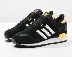 Adidas Originals ZX 700 Baskets basses core black/white/gold prix promo Baskets femme Zalando 95.00 €