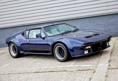 De Tomaso Pantera: With a grand Italian design and the Australian Ford 351 Cleveland (that's the really racy version), the Pantera's a blue-collar supercar that resonates with just about everyone.