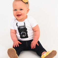 I checked out Photographer Camera Cool Baby Onesie Bodysuit Camera Creeper on Lish, $13.99 USD