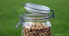Pulver aus Kastanien für viele Anwendungen selbermachen