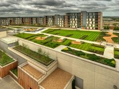 Milton Keynes also know as as Abbeygate Vizion is a roof terrace in excess of and has been a major unique selling point to the client for the… Retractable Pergola, Diy Pergola, Pergola Kits, Pergola Ideas, Landscape And Urbanism, Living Roofs, Social Housing, Milton Keynes, Urban Architecture