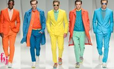 Colorful Menswear!