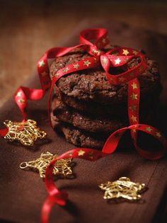 Cookies διπλής σοκολάτας #cookies Cookies, Deserts, Sweets, Chocolate, Cake, Leather, Ph, Jewelry, Food