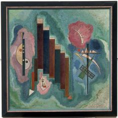 Downwards+-++Wassily+Kandinsky+