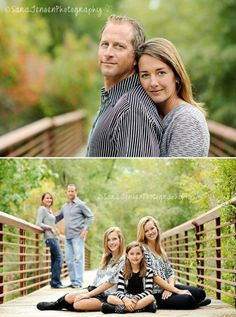 Family photography idea. Like the lower photo.  Would be cool at the IMA or Adams Mill bridge.  @Michelle Flynn Burton @Amber Guernsey @Donna Burton