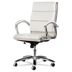 alera neratoli mid back slim profile office chair with arms amy modern office chair