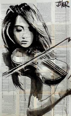 """Mit Tinte auf viele Buchseiten gemalt / Saatchi Art Artist Loui Jover; Drawing, """"notes"""" #art"""